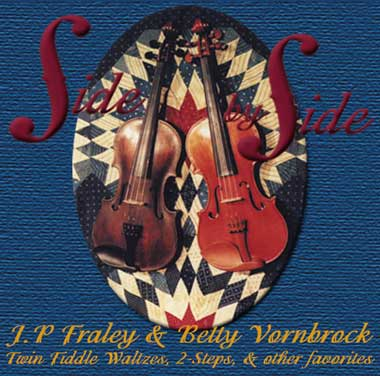 JP Fraley & Betty Vornbrock twin fiddle CD